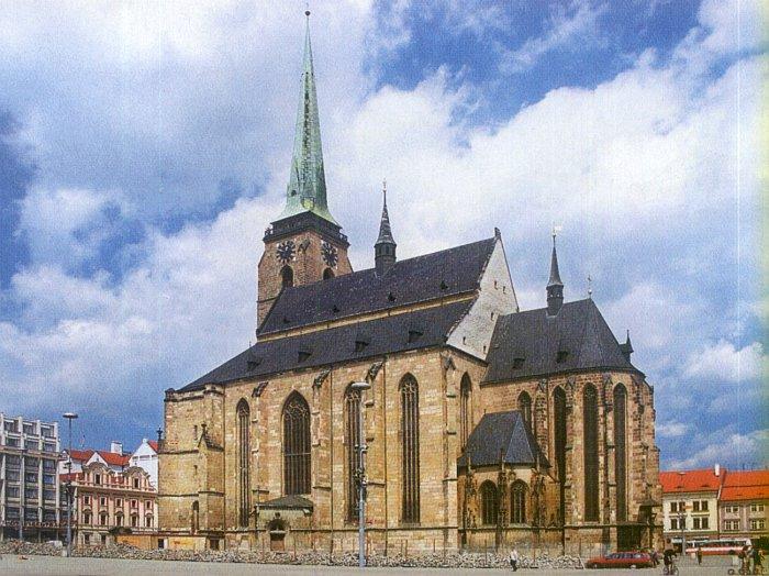 Nejvyšší kostelní věž v čr