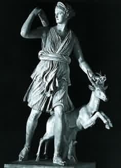 Artemis - řecká bohyně lovu