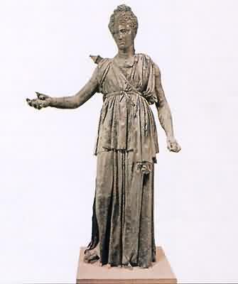 Artemis - řeská bohyně lovu