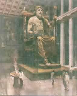 Feidiův Zeus v Olympii
